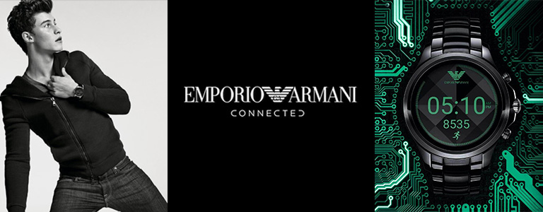 <h1>Emporio Armani Connected Smartwatch watches</h1>