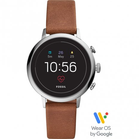 Touchscreen Smartwatch with Leather Strap - Gen4 秋冬款式 Fossil