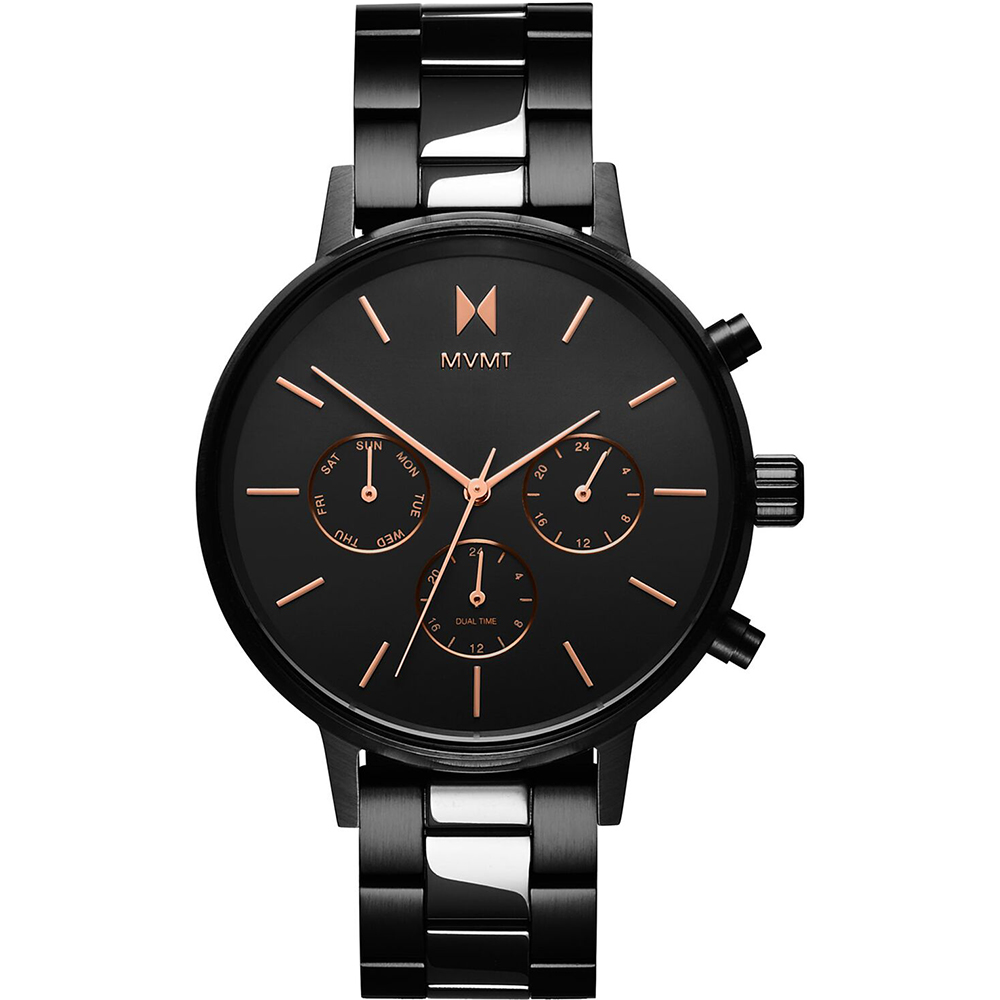 how to set dual time watch mvmt